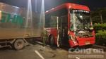 Xe khách giường nằm gây tai nạn liên hoàn trên quốc lộ 1