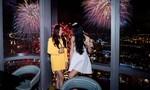 Xem pháo hoa mừng Quốc khánh từ khách sạn cao nhất Đông Nam Á