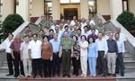 Bộ trưởng Tô Lâm gặp mặt đoàn CLB Công an hưu trí TPHCM