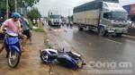 Cán chết thầy giáo dạy cấp 2, xe container bỏ chạy 6 km mới bị bắt
