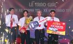Trao chiếc xế hộp 540 triệu đồng cho tài xế taxi Vinasun trúng giải thưởng