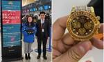 Khách bỏ quên nhẫn kim cương, đồng hồ Rolex trên máy bay