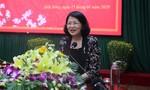 Phó Chủ tịch nước Đặng Thị Ngọc Thịnh chúc Tết  Công an tỉnh Đắk Nông