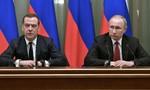 Thủ tướng Nga cùng toàn bộ quan chức chính phủ từ chức