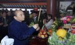 Thủ tướng dâng hương Chủ tịch Hồ Chí Minh tại Đền thờ trên núi Ba Vì