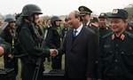 Thủ tướng kiểm tra công tác sẵn sàng chiến đấu tại Bộ Tư lệnh CSCĐ