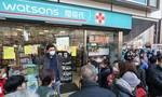 """Hong Kong """"vỡ trận"""" bán khẩu trang vì dịch cúm Vũ Hán"""