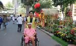 Đường hoa xuân cho bệnh nhân trong bệnh viện ở Sài Gòn