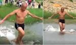 Clip cao thủ Thiếu Lâm chạy trên mặt nước