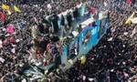 Clip vụ giẫm đạp tại đám tang tướng Soleimani, hơn 50 người chết