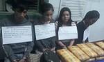 Bốn người nước ngoài vận chuyển 60.000 viên ma túy