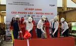 TPHCM: Hợp long cầu Phước Lộc sau hơn 8 năm thi công