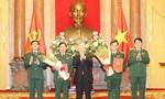 Thăng quân hàm Thượng tướng cho 2 lãnh đạo cao cấp của Quân đội