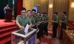 Đoàn Thanh niên Bộ Công an quyên góp ủng hộ đồng bào miền Trung