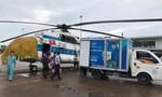 Quảng Trị: Trực thăng đưa 2 người bị thương nặng ở xã cô lập đi bệnh viện