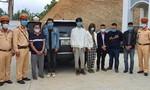 CSGT chặn bắt 20 người nhập cảnh trái phép trên cao tốc