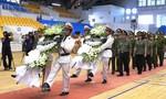 Tổ chức lễ viếng, truy điệu và an táng cán bộ Công an hy sinh khi đi cứu dân