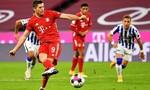 Bayern vất vả giành 3 điểm, dù Lewandowski ghi 4 bàn