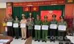 Khen thưởng các điển hình thuộc Công đoàn Công an TPHCM
