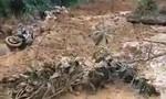 Clip người dân tháo chạy khi lở núi ở Quảng Nam, 1 người mất tích