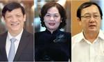 Quốc hội phê chuẩn bổ nhiệm 2 Bộ trưởng và Thống đốc NHNN
