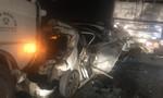Tai nạn liên hoàn giữa 6 ô tô trên cao tốc TPHCM- Trung Lương, 3 xe bẹp dúm