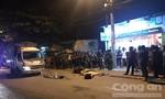 Xe máy đối đầu xe tải ở Sài Gòn, một người tử nạn tại chỗ