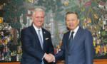 Bộ trưởng Tô Lâm tiếp, hội đàm với Cố vấn An ninh quốc gia Mỹ