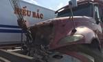 Container gây tai nạn liên hoàn trên QL1K, nhiều xe hư hỏng nặng
