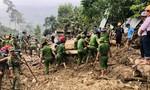 Công an Quảng Nam nỗ lực tìm kiếm nạn nhân mất tích trong vụ sạt lở Trà Leng