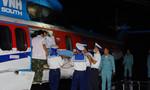 Trực thăng đưa bệnh nhân từ Trường Sa về đất liền cấp cứu