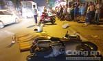 Xe máy va chạm container ở Sài Gòn, một người bị cán tử vong