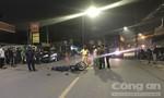 Hai công nhân đi nhậu về tông xe tải, 1 người chết, 1 người nguy kịch