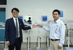 Tặng thiết bị y tế cho các bệnh viện tại Quảng Ngãi