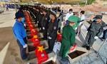 Truy điệu, an táng 262 hài cốt liệt sĩ Việt Nam hy sinh tại Campuchia