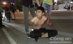 Vây bắt kẻ mang dao đi trộm xe máy trong làng Đại học quốc gia TP.HCM