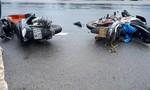 Tai nạn liên hoàn giữa 4 xe máy, nhiều người bị thương