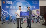 Trao 114 xe đạp cho trẻ em nghèo, hiếu học