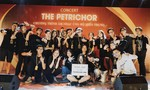 Nhóm học sinh tổ chức đêm nhạc giúp đồng bào miền Trung đón Tết