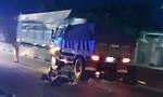 Một chiến sĩ CSCĐ bị xe ben chạy ngược chiều tông tử vong