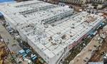 Cận cảnh bệnh viện dã chiến Hoả Thần Sơn Trung Quốc xây trong 10 ngày