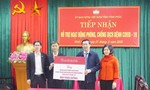 Chống dịch Covid-19: Cán bộ Agribank ủng hộ Vĩnh Phúc 800 triệu đồng