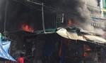 TPHCM: Cháy dữ dội tại chợ Hạnh Thông Tây, một phụ nữ được cứu