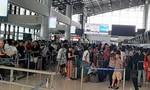 Nữ hành khách cắn nhân viên hàng không ở sân bay Tân Sơn Nhất