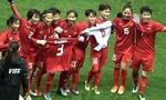 Clip tuyển nữ Việt Nam giành suất play-off Olympic