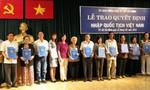 Muốn nhập quốc tịch Việt Nam phải biết tiếng Việt