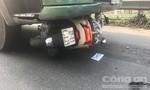 Cô gái bị xe container kéo lê đi hơn 100m ở Sài Gòn