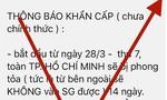 """Xác định ít nhất 18 tài khoản lan truyền tin giả """"phong tỏa TPHCM"""""""