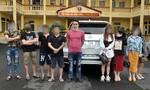 Tạm giữ nhóm thanh niên vi phạm nồng độ cồn, sử dụng ma túy trên ô tô