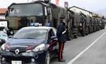 Clip xe tải quân sự ở Ý làm việc hết công suất hỗ trợ mai táng